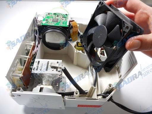 تعمیر فن پروژکتور صدرا