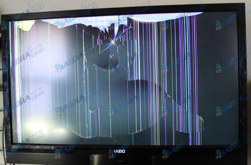 چه عواملی موجب شکستن ال سی دی تلویزیون می شود؟