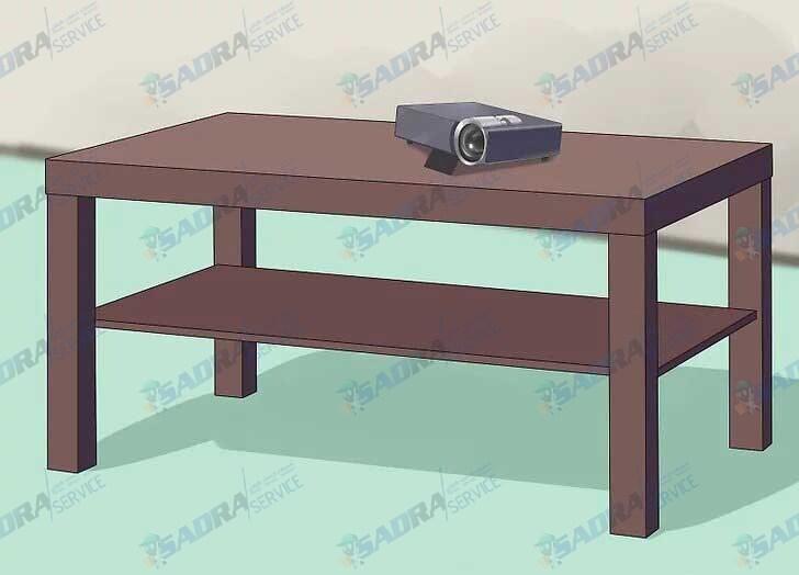 اتصال ویدئو پروژکتور به تلویزیون