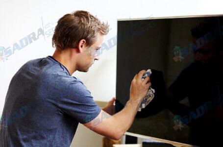 نحوه تمیزکردن صفحه تلویزیون ال جی (LG)
