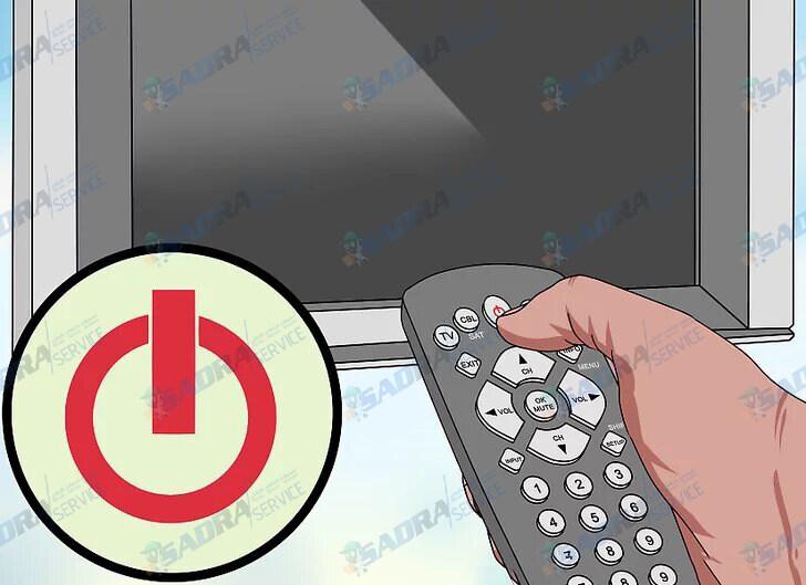 نحوه تمیز کردن صفحه تلویزیون