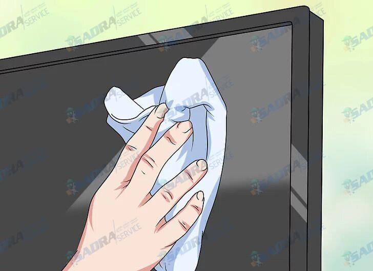 تمیز کردن تلویزیون ال جی