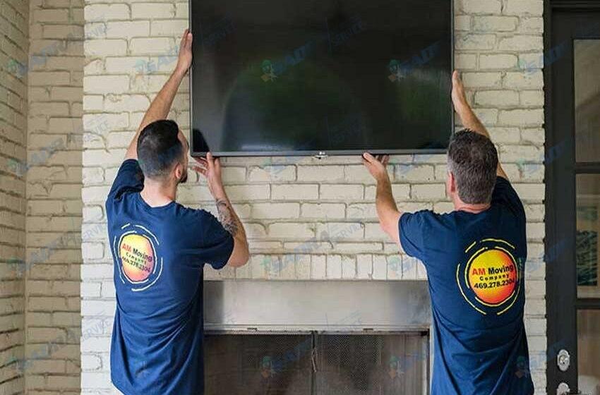 نحوه نصب تلویزیون ال سی دی به دیوار