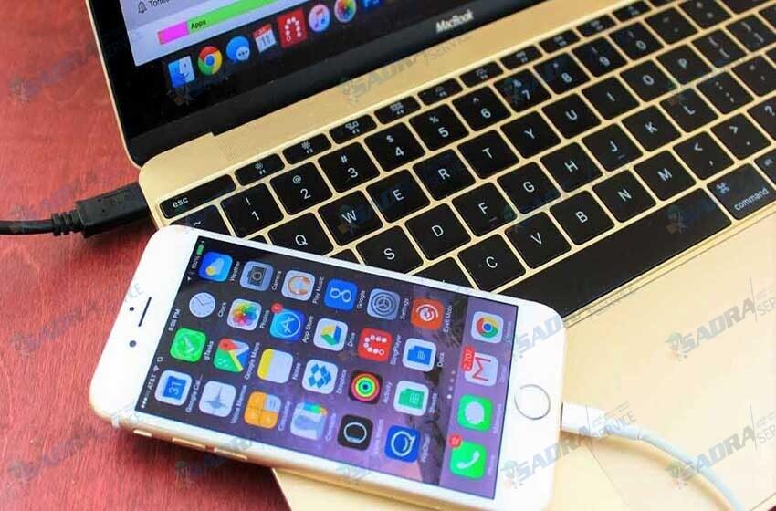 انتقال اطلاعات تلفن همراه به کامپیوتر