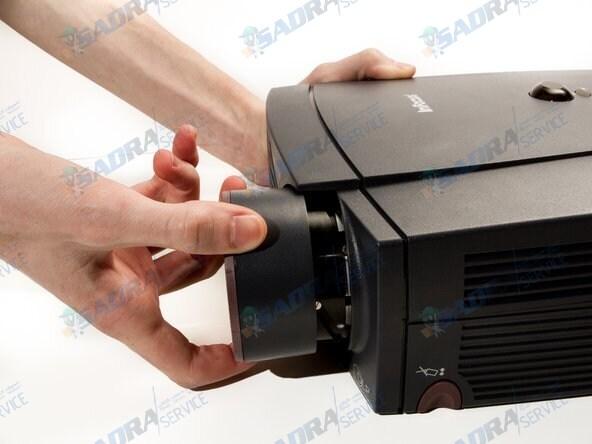 تعمیر لنز ویدئو پروژکتور